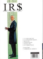 Verso de I.R.$. -1a2004- La voie fiscale