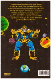 Verso de Marvel Gold -1- Le gant de l'infini - Le défi de Thanos