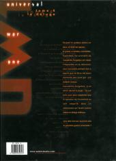 Verso de Universal War One -4a2001b- Le déluge