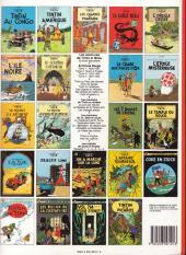 Verso de Tintin (Historique) -22C6b- Vol 714 pour Sydney