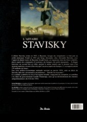 Verso de Les grandes affaires criminelles et mystérieuses -5- L'Affaire Stavisky