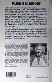 Verso de (AUT) Pratt, Hugo - Putain d'amour