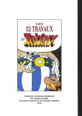 Verso de Astérix (Hors Série) -1pir- Les 12 travaux d'Astérix