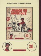Verso de Luc Junior -3- Reportage à l'ombre