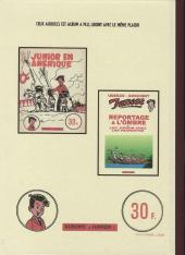 Verso de Luc Junior -4- Chez les Martiens et naufragés volontaires