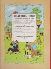 Verso de Tintin (Historique) -17B12b- On a marché sur la lune