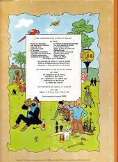 Verso de Tintin (Historique) -14B34- Le temple du soleil