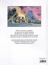 Verso de Les fabuleuses dérives de la Santa Sardinha -1- Tome 1