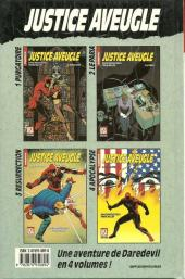 Verso de Super Héros (Collection Comics USA) -27- Daredevil : Justice aveugle 2/4 - Le paria