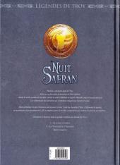 Verso de Nuit Safran -2- La vengeance d'Albumen