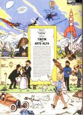 Verso de Tintin - Pastiches, parodies & pirates -35ESP- Tintin y el arte-alfa