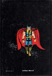 Verso de Albums Artima DC/Marvel Super Star -1- Thor, le fils d'Odin : Thor et le Surfer d'argent