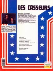 Verso de Les casseurs - Al & Brock -2a1984- Sabotage à Fort-Tempest