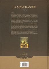 Verso de La mandragore (Cordurié/Santucci) -1- Une porte sur l'enfer
