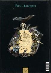 Verso de Petrus Barbygère -2- Le croquemitaine d'écume