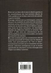 Verso de Tintin - Divers -a- Tintin Noir sur Blanc