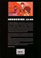 Verso de Indochine. La BD