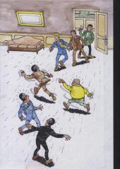 Verso de Inspecteur Caryton (Les aventures de l') -1- Cavale meurtrière