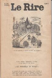 Verso de Le rire -183- Décembre 1966