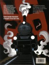 Verso de À l'ombre du convoi -1- Le poids du passé