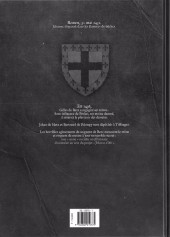 Verso de Les démons d'Armoises -1- Prelati