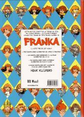 Verso de Franka (BD Must) -21TT12- La Flamme d'argent (Le Voyage d'Ishtar n°3)