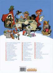 Verso de Spirou et Fantasio -39Ind- Spirou à New York