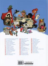 Verso de Spirou et Fantasio -13Ind- Le Voyageur du mésozoïque