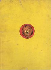 Verso de Les fables de La Fontaine (Rabier) - Fables de La Fontaine **
