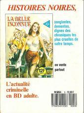 Verso de Série blanche (Elvifrance) -9- La ville des perversités