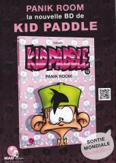Verso de Kid Paddle -HS- Compil de gags