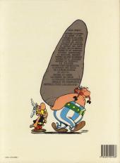 Verso de Astérix -15b87- La zizanie