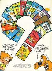 Verso de Boule et Bill -7d80- Album N° 7 des gags de Boule et Bill
