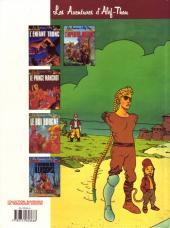 Verso de Les aventures d'Alef-Thau -3a1990- Le roi borgne