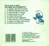 Verso de Schtroumpfs (Mini-Albums) -8- La pluie et le beau schtroumpf