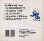 Verso de Schtroumpfs (Mini-Albums) -9- Le schtroumpf sorcier