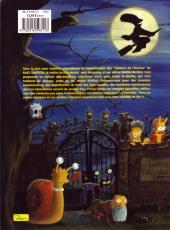 Verso de Les simpson (La cabane des horreurs) -3- Horrib'-Terrib' Houlahoula