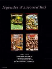 Verso de Les phalanges de l'ordre noir -b1984- Les Phalanges de l'Ordre Noir
