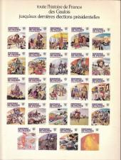 Verso de Histoire de France en bandes dessinées -15a- La Révolution