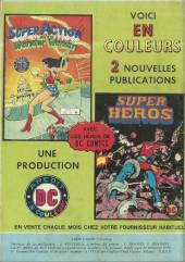 Verso de Super Action avec Wonder Woman -2- Paradis en péril