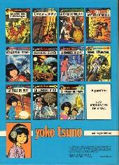 Verso de Yoko Tsuno -12- La proie et l'ombre