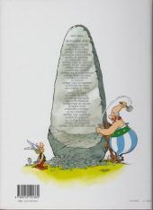 Verso de Astérix (Hachette) -4b05- Astérix gladiateur