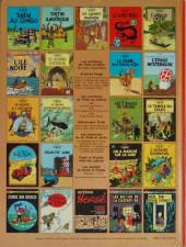 Verso de Tintin (Historique) -3C1- Tintin en Amérique