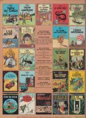 Verso de Tintin (Historique) -12C1- Le trésor de Rackham Le Rouge