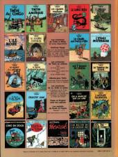 Verso de Tintin (Historique) -16C1- Objectif lune