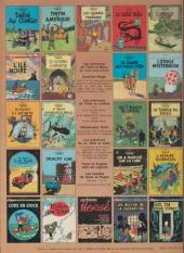 Verso de Tintin (Historique) -17C1- On a marché sur la lune