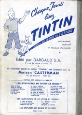 Verso de (Recueil) Tintin (Album du journal - Édition française) -50- Tintin album du journal (n° 666 à 675)