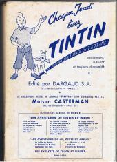 Verso de (Recueil) Tintin (Album du journal - Édition française) -61- Tintin album du journal (n°806 à 815)