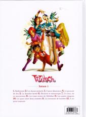 Verso de W.I.T.C.H. - Saison 1 (Glénat) -3- L'autre dimension