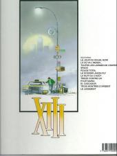 Verso de XIII -6a1997- Le dossier Jason Fly
